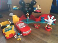 Mickey Mouse clubhouse and cars!!!!!