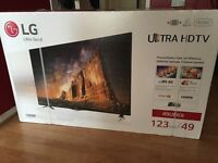"49"" Inch Ultra HD 4K SMART LED TV Black"