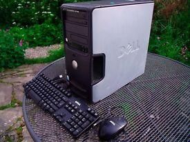 DELL Dimension 3100 PC, TFT, Keybd & Mouse - VGC & Works Great! + FREE HP Deskjet 4180 PRINTER!!