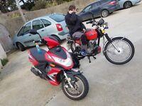 Lifan 125 moped
