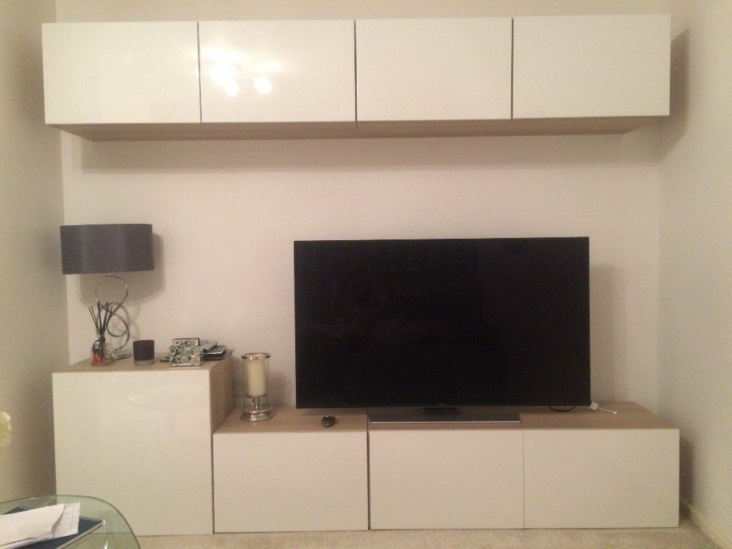 Ikea Besta Tv Storage Unit Superb Condition In