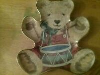 Teddy bear plates limited edition