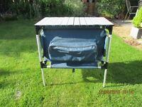 Kampa Quartermaster 4 - Collapsible Camping Cupboard