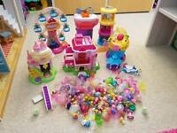Squinkie playset and figures