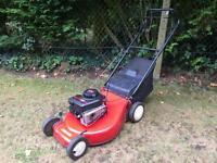 "Self drive petrol Lawnmower large 20"" cut"