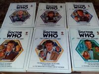 Doctor Who - The Complete History - 6 volumes - hardback and full colour - RRP £59.94