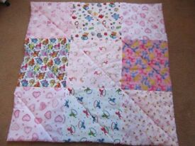 HANDMADE JUMBO SIZE BABY/CHILD PLAY MAT IN VARIOUS COLOURS AND DESIGNS