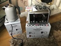 KENWOOD SCENE KETTLE AND TOASTER SET brand new