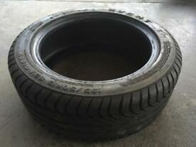 195/45/15 part worn used tyre