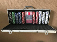 Poker Set with 3 Decks of Cards