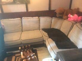 Large corner sofa very comfy