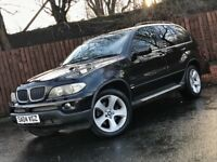 BMW X5. **AUTOMATIC** FACELIFT BMW X5 3.0 DIESEL BLACK LEATHER SERVICE HISTORY