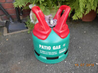 CALOR PATIO GAS BOTTLE 5 KG ** FULL UNUSED**