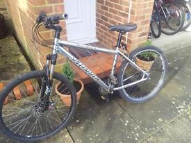 Specialized hardrock mountain bike in need of some work