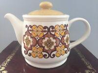 Vintage Look Ceramic Teapot