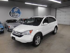 2011 Honda CR-V EXL 4X4 LEATHER & NAV!NO PAYMENTS TIL JUNE 2016