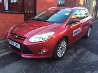 Ford Focus titanium x fully loaded model,leeds taxi plated car