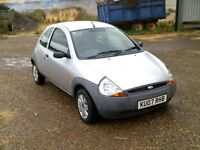 FORD KA 1.3 STUDIO , 12 MONTHS MOT , ONLY 1 LADY OWNER FROM NEW