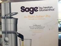Sage Nutri juicer pro