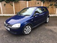Vauxhall Corsa 1.2 2003 cheap ideal first car