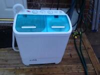 Camping twintubes washing machine