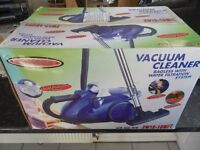 Un-used Bagless Vacume Cleaner With Aqua System