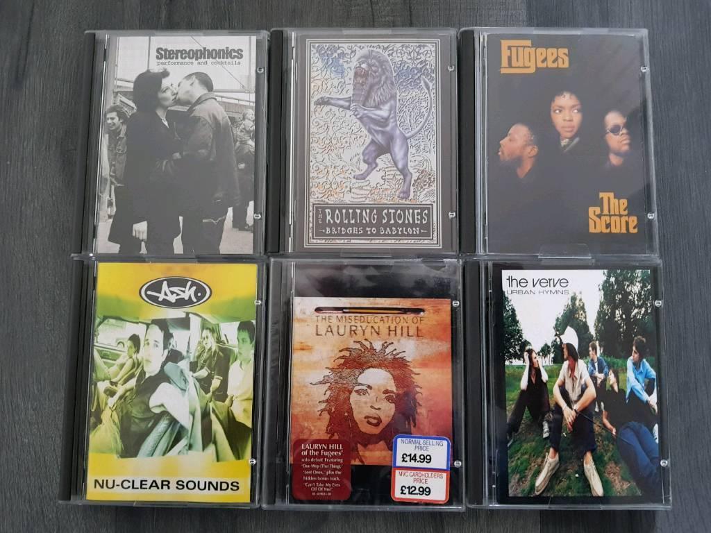 ORIGINAL MINIDISC MD ALBUMS