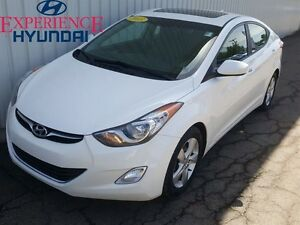 2013 Hyundai Elantra GLS EXCELLENT LOW KM WITH FACTORY WARRANTY