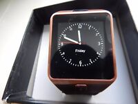 BRAND NEW SMART WATCH /MOBILE PHONE(CAN POST THIS )