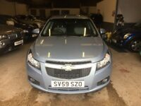 2009 59 plate Chevrolet Cruze 1.6 LS saloon met blue, mot March 2018 new t/belt LOVELY CAR!