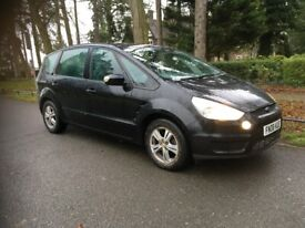 FORD S-MAX 2.0 TDCI ZETEC 6G EDITION, 6 SPEED MANUAL, 12 MONTH MOT, LOW MILES (89600) 7 SEATER