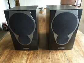 Mission MX-1 100W Hi-Fi Bookshelf Speakers - Black