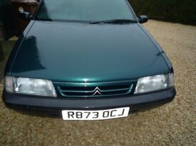 Citroen ZX 1.9D estate automatic NON RUNNER timing belt broke. For spares/repair. Only 56,103 miles