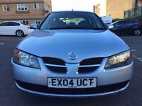 2004 Nissan Almera for Sale! 1.5 Hatchback Petrol. Full Service History and MOT and HPI Clear!