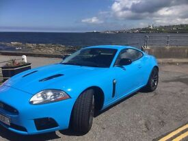 New Year, New You.....New Car ;) Stunning calypso blue Jaguar XKR supercharged 4.2