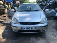 2003 Ford Focus Zetec 5dr 1.6 Petrol Silver BREAKING FOR SPARES