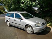 * Vauxhall Astra LS Estate 1.6 Petrol Bargain, FSH, Low Mileage, Full MOT, 2 previous keepers *