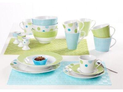 Flirt by Ritzenhoff & Breker Porzellan Kaffeeservice Green Spot 18tlg.  online kaufen