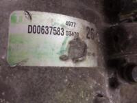 Vw air con compressor : air con pump - part D00637583 03470