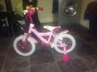 Girl bike ages 2-5