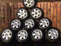 BORA SPORTS SELECTION OF FIVE SETS FROM £140PER SET WITH DECENT TYRES