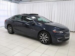 2018 Chevrolet Malibu NEAR NEW MALIBU 2LT w/ LEATHER NAV PANORAM