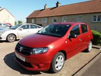 Dacia Sandero Ambience, 1.2L only 567 miles on the clock.