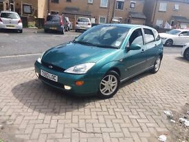 FORD FOCUS 1.6 ZETEC 1999 12MONTHS MOT FANTASTIC FAMILY HATCHBACK VERY CLEAN NF/S/H DRIVES PERFECT