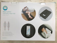 Unused full body vibrating massage relax mat in as new condition