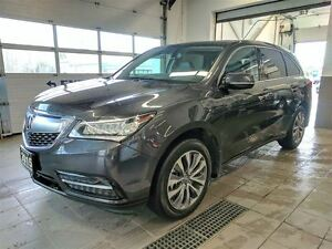 2015 Acura MDX Navigation AWD - Tow Pkg - Leather - No Accidents