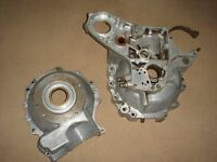 BSA A 10 Matched Pair of Crank Casings