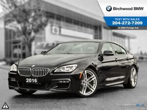 2016 BMW 6 Series 650i Xdrive M Sport! Local One Owner!