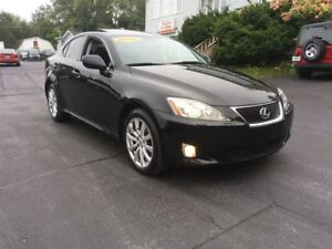 2006 Lexus IS 250 Heated leather, pwr. sunroof