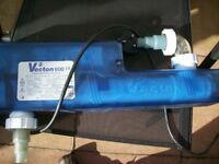 For sale a vectron V2 600 Ultra violet Steriliser for fish tanks up to 600 litres.